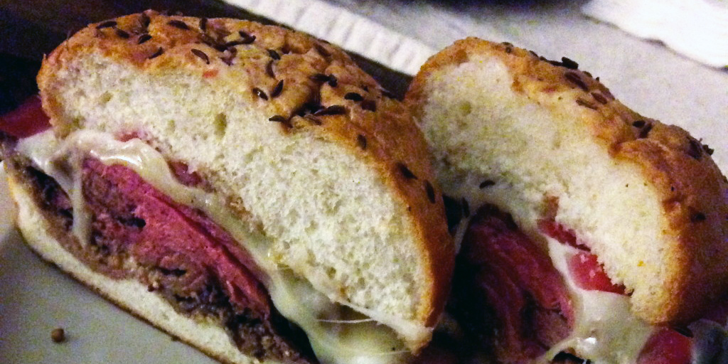 The beef on weck at Carving Room, Washington, D.C.